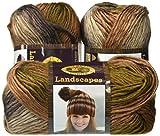 Lion Brand Yarn 600-616 Outlander Kit -Claire's Heroic Healing Shrug (Crochet)