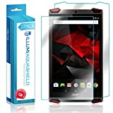 Acer Predator 8 Screen Protector + Back Cover (2-Pack), ILLUMI AquaShield Full Coverage Back and Front Screen Protector for Acer Predator 8 HD Clear Anti-Bubble Film