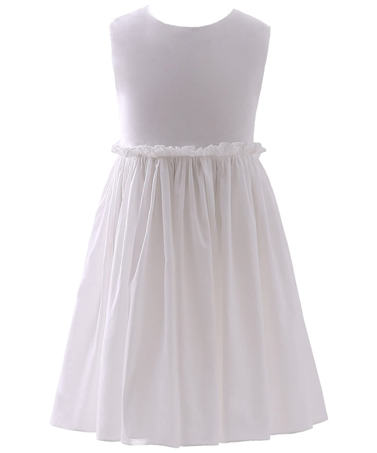 ffa52ab34d0a AbaoSisters Girls Summer Dress Sleeveless Hollow Back Frock 2-9 Year Old