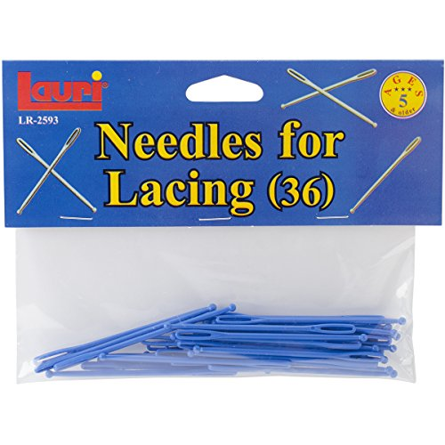 """Needles For Lacing 36/Pkg-3"""" Plastic Ball-Tipped"""
