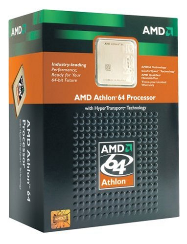 AMD Athlon 64 processor 3200+ Socket 939 ( ADA3200BPBOX ) by AMD