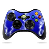 Cheap Protective Vinyl Skin Decal Cover for Microsoft Xbox 360 Controller wrap sticker skins Lightning Storm