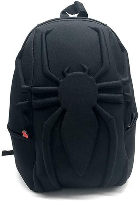 ZXCMNB Rucksack Spiderman Kinder 3D Stereo Rucksack Computer Tasche Marvel Movie Umgebung Kreative Nettes Spielzeug Paket Color : Black