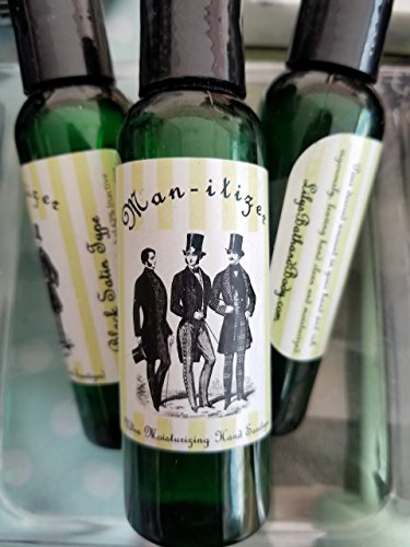 Man-itizer Moisturizing Hand Sanitizer Old Spice Fresh Designer Type Scented for Men