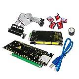 Keyestudio 3D Printer Kit for Arduino RAMPS 1.4 + Mega 2560 + 5x A4988 + LCD 2004 Controller