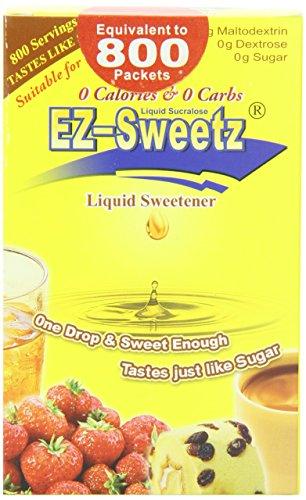 (EZ-Sweetz (2.0oz - Liquid Sweetener 800 Servings/Bottle) (Original, 1)