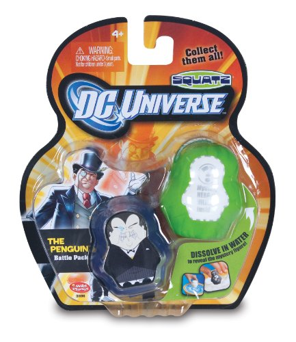 DC Universe Squatz - Penguin and Mystery Character