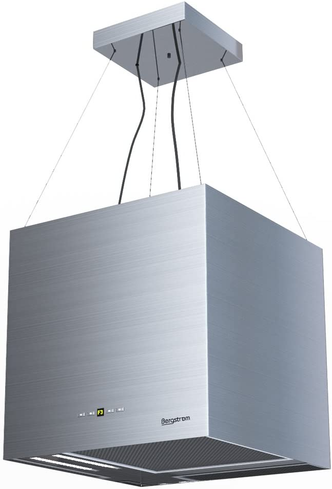 Campana extractora Isla – Campana Acero inoxidable freihängend Diseño Bergstroem Bergstroem Clase energética A: Amazon.es: Grandes electrodomésticos