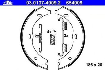 Feststellbremse TRW GS8741 Bremsbackensatz
