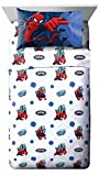 Marvel Spiderman Astonish 4 Piece Full Sheet Set For Sale