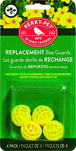 Perky-Pet 205Y Replacement Yellow Bee Guards - 2 Pack ( Package may vary ) (Hummingbird Parts Feeder)