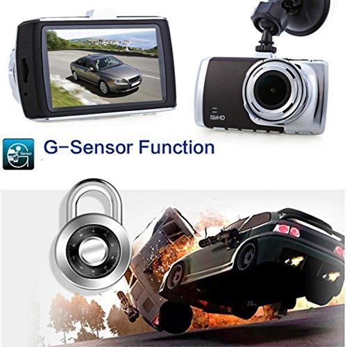 Car DVR£¬ Gotd New 3'' Full HD 1080P Car DVR Video Camera Recorder Dashboard Dash Cam G-sensor (Silver+Black)
