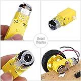 KEYESTUDIO DC Motor Wheel Parts Kit for Arduino