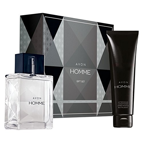 Avon Homme Eau De Toilette Gift Set EDT 75ml and After Shave Balm 100ml BRAND NEW IN A GIFT BOX