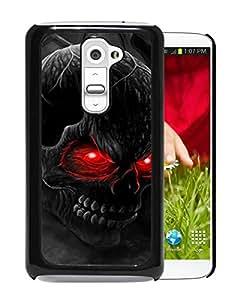 Red Eye Skull 1 Black LG G2 Case Sale Online