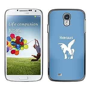 SKCASE Center / Funda Carcasa - Hércules Caballo;;;;;;;; - Samsung Galaxy S4