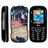 Cosmos 3 Case, Stylish Snug Fitted Hard Protector Cover Snap On Case with Customized Design for LG Cosmos 3 VN251S, LG Cosmos 2 VN251 (Verizon) from MINITURTLE   Includes Clear Screen Protector and Stylus Pen - Life at the Beach