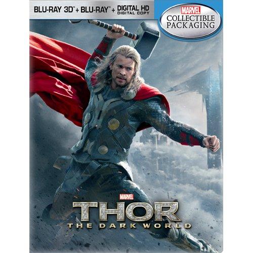 Thor: The Dark World - Limited Edition Steelbook [Blu-ray 3D + Blu-ray] [2013]