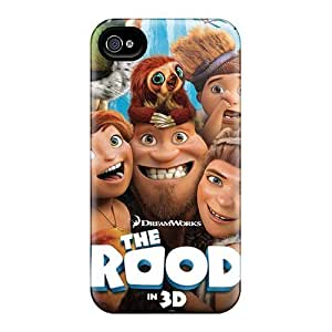 Fashionable Iphone 5/5s Case Cover For The Croods Movie Protective Case