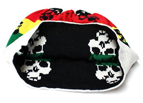 Jamaïque De 7xcollection V16 501 Ski Mort bunt Death Tête D'hiver Bonnet 7pxxnqwH6R