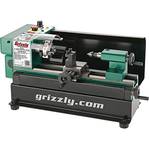 Grizzly G0745 Micro Metal Lathe, 4 x 6""