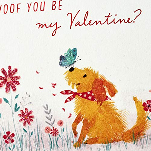 Hallmark Valentines Day Card from the Dog (Woof) Photo #7