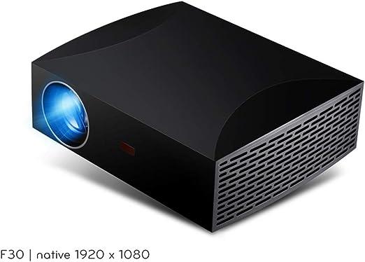 WF Proyector Full HD 1080P, Mini 4500 Lux 200 Pulgadas Pantalla ...