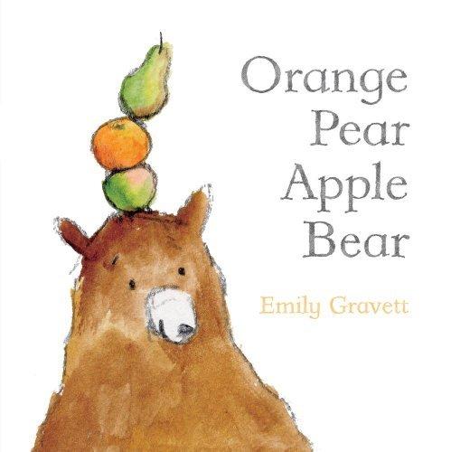 apple pear orange bear - 4