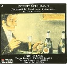Schumann: Klavierwerke Vol6 Fantasiest??cke & Kreisl by Eric Le Sage Frank Braley Francios Salque Victor Julien-Laferriere Bruno Schneider (2009-02-10)