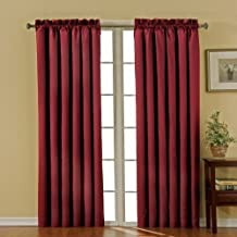 Eclipse Canova 42-Inch by 63-Inch Thermaback Blackout Panel, Burgundy by Eclipse