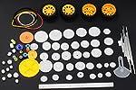 78 kinds of gear package toy car accessories motor various gear axle belt bushings DIY For the car, Kaifa by Kaifa