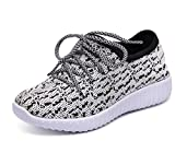 Girl's Boy's Breathable Light Weight Lace-Up Running Shoes Sneakers(Toddler/Little Kid/Big kid)