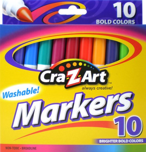 Cra Z art Bold Washable Markers 1003 24