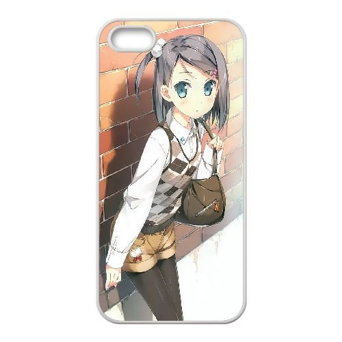 Z7U71 Tsukiko tsutsukakushi C7C2UG coque iPhone 5 5s cellulaire cas de téléphone couvercle de coque blanche IA4EVY5FL