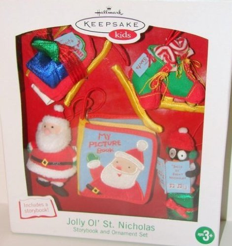 Jolly Ol St. Nicholas Story Book and Ornament Set
