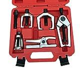 HFS (R) 6-Piece Gear Pulley Flywheel Puller Bearing Separator Tool Kit