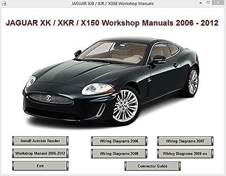 Automobilia XKR JAGUAR XK X150 2006-2012 WORKSHOP SERVICE REPAIR ...
