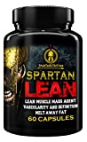 Spartan Lean, Lean muscle Mass Agent, Vascularity & Definition, Melt away Fat by Sparta Nutrition - 60 Caps