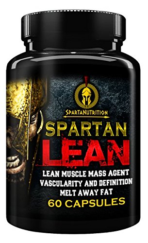 Spartan Lean, Lean muscle Mass Agent, Vascularity & Definition, Melt away Fat by Sparta Nutrition - 60 Caps by Sparta Nutrition