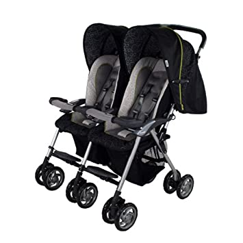 Amazon.com : Combi Twin Savvy LX Side by Side Double Stroller in ...