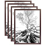 Art Shadow-Box 24x30 Walnut Wood frame by MCS Our price is for 4 units - 24x30