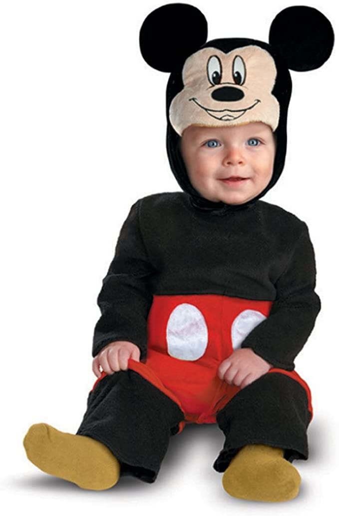 Disfraz Disney Mickey Mouse traje infantil 6 - 12 Meses: Amazon.es ...