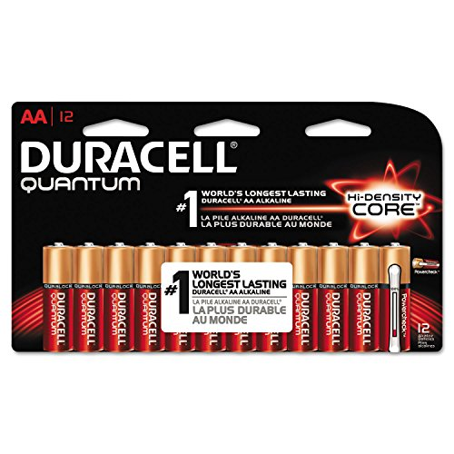 Duracell Quantum Alkaline Batteries with Duralock Power Preserve Technology, AA - Quantum Remote