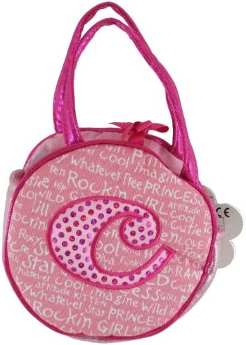Aurora World Plush - Initials Pet Carrier - LETTER C / Aurora World Plush - Initials Pet Carrier - LETTER C