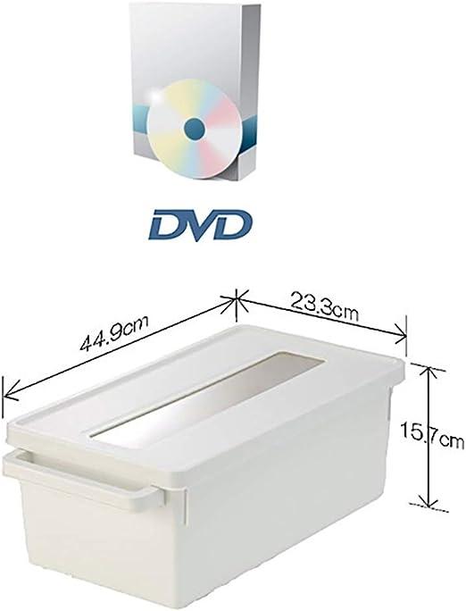 GWXJZ Estanterías para CD DVD Disco de DVD Caja de Almacenamiento ...
