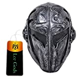 Black Wire Mesh Full Face Protection Paintball Mask Templar