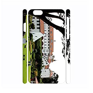 Nature Building Series Funny Phone Accessories Hard Platic Skin Case Cover for Iphone 6 - 4.7 Inch wangjiang maoyi