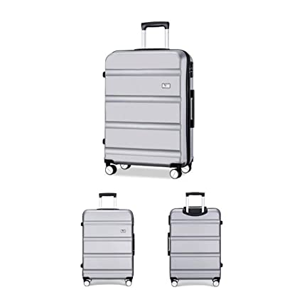 63b8e6c97d36 Amazon.com: Haoyushangmao Travel Suitcase, Hard Travel Bag, Trolley ...