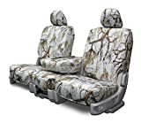 yukon xl 2003 seat covers white - Custom Seat Covers - Chevy Silverado REAR 40-60 - Snow Camouflage Fabric