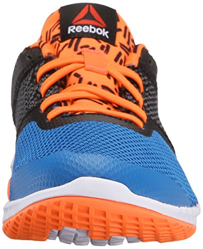 Reebok zprint Run Gr Shoe (poco Kid/Big Kid) Blue-Blck-Red-Wht